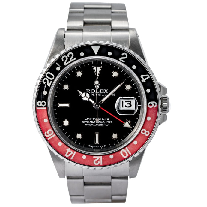 Rolex GMT-Master II Coke Stainless Steel 40mm (16710) - Boston