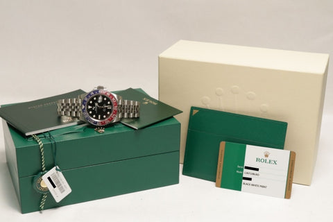 Rolex Gmt-Master Ii Pepsi Stainless Steel 40Mm (126710 Blro) - Watches Boston