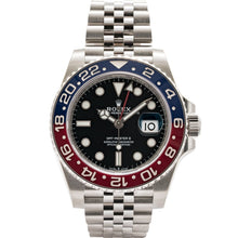 Load image into Gallery viewer, Rolex Gmt-Master Ii Pepsi Stainless Steel 40Mm (126710 Blro) Mint - Unworn - Watches Boston