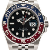 Rolex Gmt-Master Ii Pepsi Stainless Steel 40Mm (126710 Blro) Mint - Unworn - Watches Boston