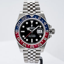 Load image into Gallery viewer, Rolex GMT-MASTER II Pepsi Stainless Steel 40mm (126710BLRO) - Boston