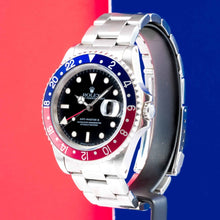 Load image into Gallery viewer, Rolex GMT-Master II PEPSI Stainless Steel 40mm (16700) - vintage - Boston