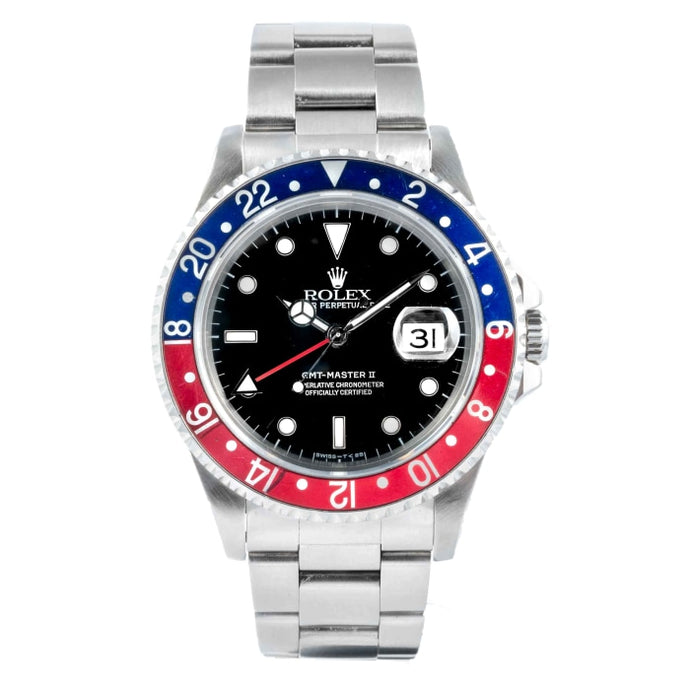 Rolex GMT-Master II PEPSI Stainless Steel 40mm (16700) - vintage - Boston