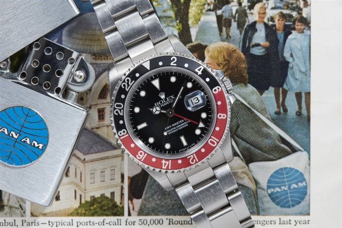 Rolex Gmt Master Ii Reference 16710 - Watches Boston