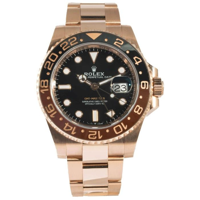 Rolex GMT-Master II EverRose Gold 40mm (126715CHNR) - Boston