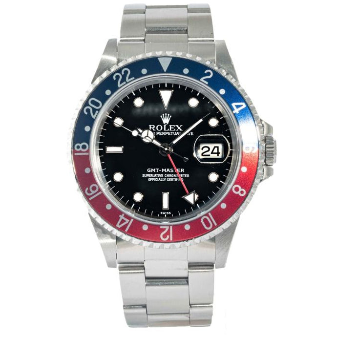 Rolex GMT-Master Pepsi Stainless Steel 40mm (16700) - Boston