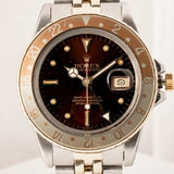 Rolex GMT-Master Rootbeer Two-Tone 40mm (16753) - Vintage - Boston