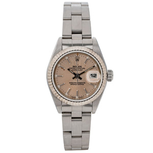 Rolex Ladies Datejust Stainless Steel 24mm (69174) - Boston