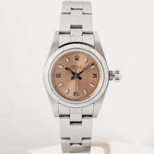 Load image into Gallery viewer, Rolex Ladies Oyster Perpetual Pink Dial Stainless Steel 24mm (76080) - Boston