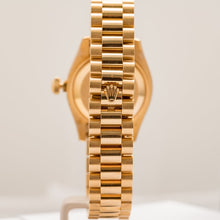 Load image into Gallery viewer, Rolex Ladies President Yellow Gold 26Mm (179178) - Boston