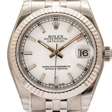 Load image into Gallery viewer, Rolex Oyster Perpetual Datejust Stainless Steel 31Mm (178274) - Watches Boston