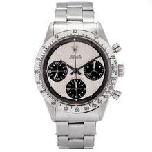 Load image into Gallery viewer, Rolex Daytona Cosmograph Stainless Steel 37.5mm 1969 Vintage (6263) - Extremely Rare Paul Newman Exotic Dial - Boston