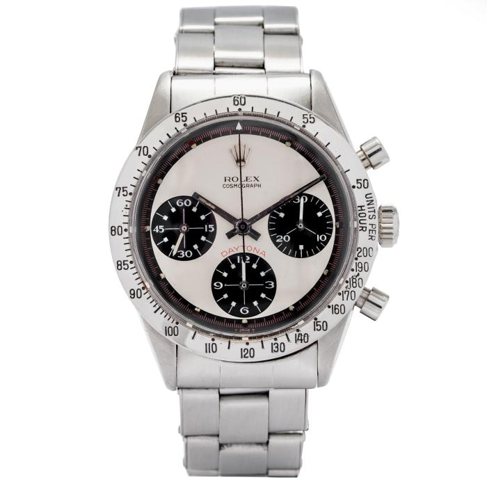 Rolex Daytona Cosmograph Stainless Steel 37.5mm 1969 Vintage (6263) - Extremely Rare Paul Newman Exotic Dial - Boston