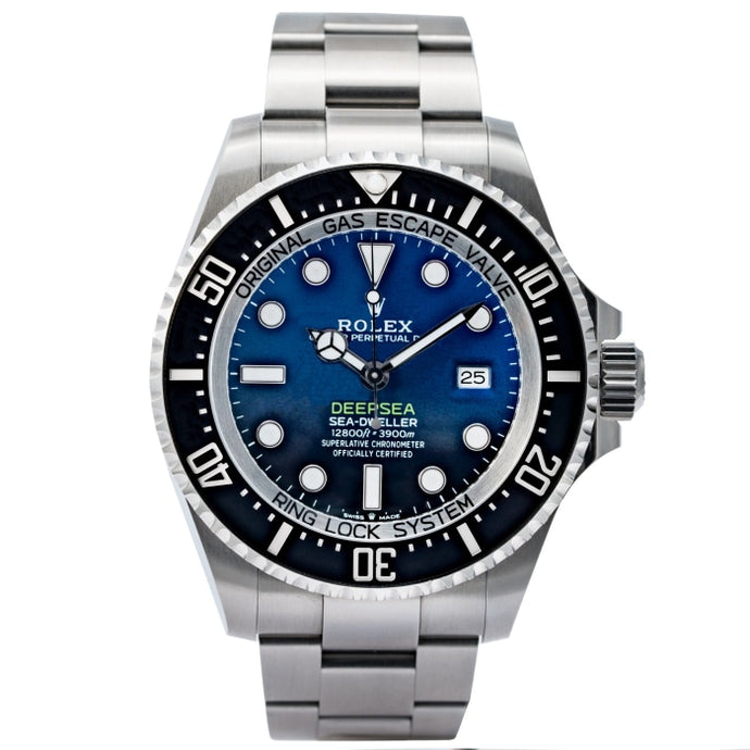 Rolex Sea-Dweller James Cameron Deepsea D-Blue Dial Stainless Steel 44mm (126660) - Boston