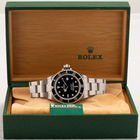 Rolex Sea-Dweller Stainless Steel 40Mm (16600) - Boston