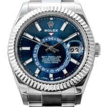 Load image into Gallery viewer, Rolex SKY-DWELLER Oyster Perpetual Stainless Steel 42mm (326934) - Boston