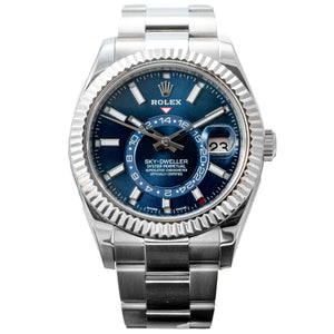 Rolex SKY-DWELLER Oyster Perpetual Stainless Steel 42mm (326934) - Boston