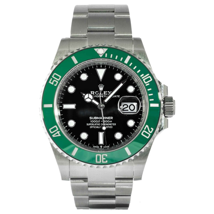 Rolex Submariner Date 41 Black Dial Green Bezel 41mm (126610LV) - MINT UNWORN - Boston