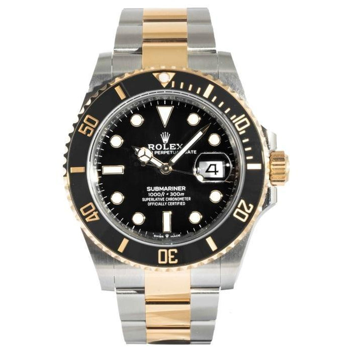 Rolex Submariner Date 41 Two-Tone Yellow Gold and Stainless Steel 41mm (126613LN) - MINT UNWORN - Boston