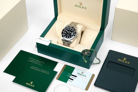 Rolex Submariner Date Stainless Steel Black 40Mm (116610Ln) Mint - Unworn - Boston
