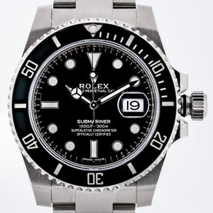 Rolex Submariner Date Stainless Steel Black 40mm (116610LN) - MINT UNWORN - WATCHES Boston