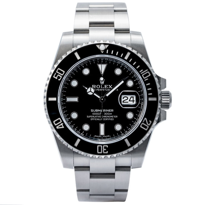 Rolex Submariner Date Stainless Steel Black Dial 40mm (116610LN) - Like New in Box - Boston