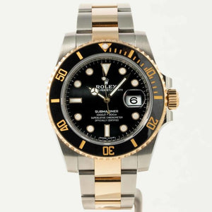 Rolex Submariner Date Stainless Steel/Yellow Gold Black (116613LN) - Boston