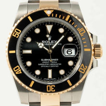 Load image into Gallery viewer, Rolex Submariner Date Stainless Steel/Yellow Gold Black (116613LN) - Boston