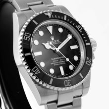 Load image into Gallery viewer, Rolex Submariner No Date Stainless Steel 40mm (114060) - Boston