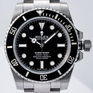 Rolex Submariner No Date Stainless Steel 40mm (114060) - Boston