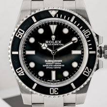 Load image into Gallery viewer, ROLEX SUBMARINER NO DATE STAINLESS STEEL 40MM (114060) - MINT - Boston