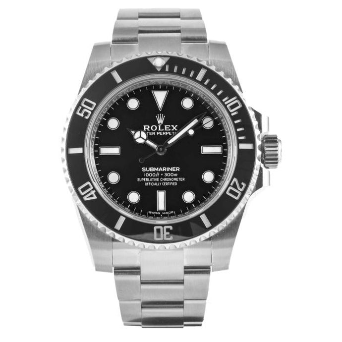 Rolex Black Submariner Ref# 114060 - Boston