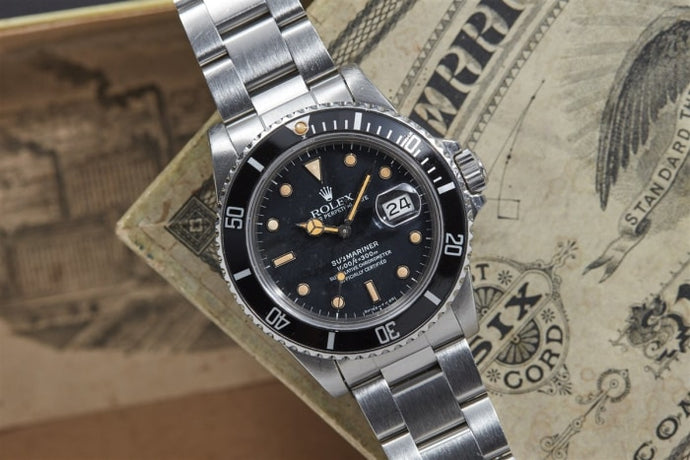 Rolex Submariner Reference 16800 - Watches Boston