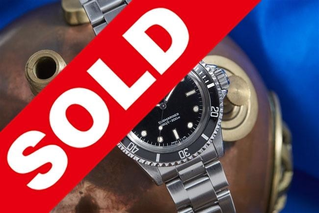 Rolex Submariner Reference 5513 - Watches Boston