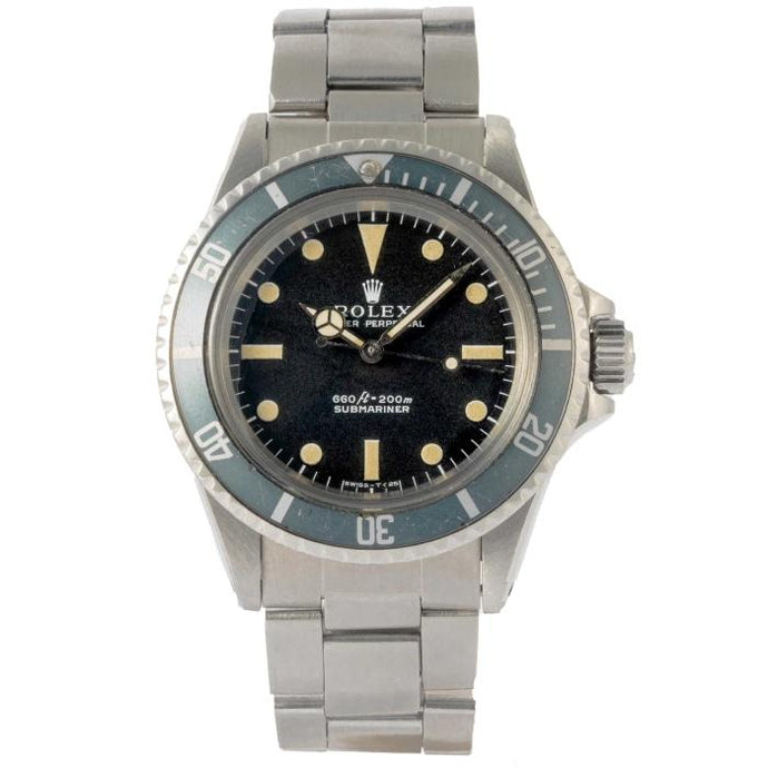 Rolex Vintage 1971 Submariner No Date Stainless Steel 40mm (5513) - Boston