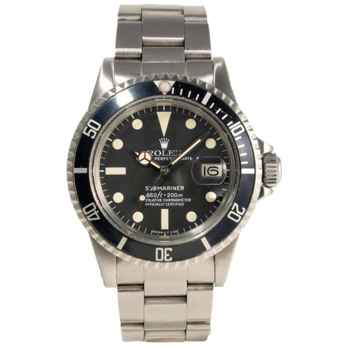 Rolex Black Submariner Ref#1680 - Boston