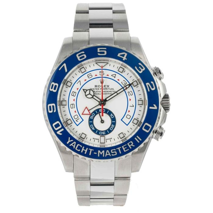 Rolex YACHT-MASTER II Stainless Steel 44mm (116680) - Boston
