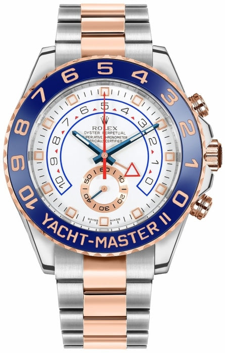 Rolex Yacht-Master II Two-Tone Rose Gold/Stainless Steel 44mm (116681) - INCOMING - Boston