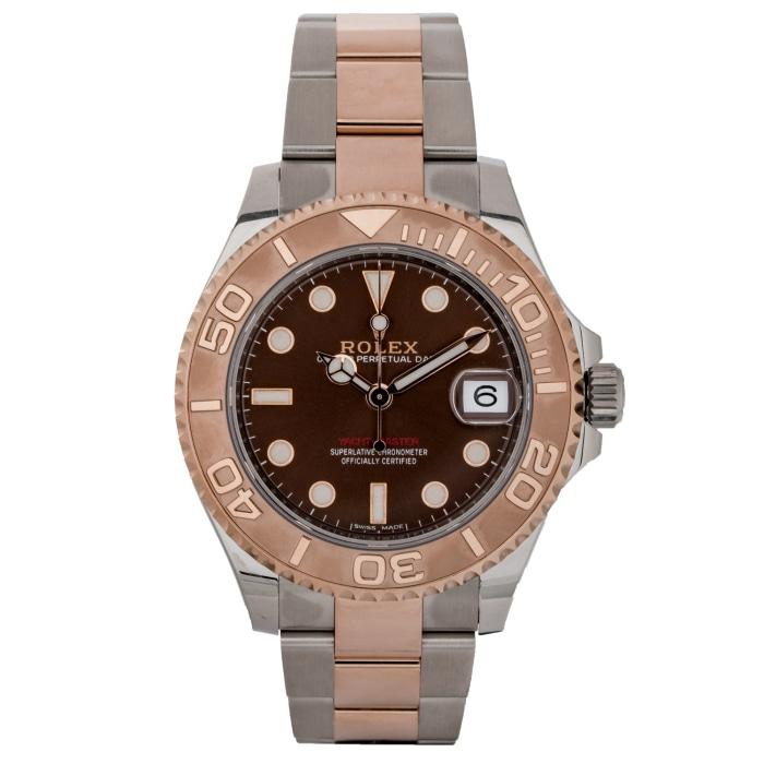Rolex Yacht-Master Two-Tone EverRose Gold and Stainless Steel 37mm (268621) - Boston