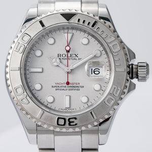 Rolex Yachtmaster Stainless Steel/Platinum Bezel 40mm (16622) - Boston