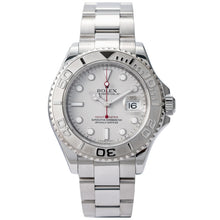 Load image into Gallery viewer, Rolex Yachtmaster Stainless Steel/Platinum Bezel 40mm (16622) - Boston