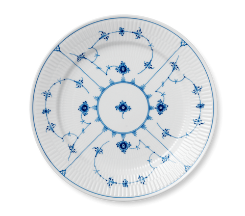 Royal Copenhagen Blue Fluted Plain Dinner Plate - Home & Decor Boston