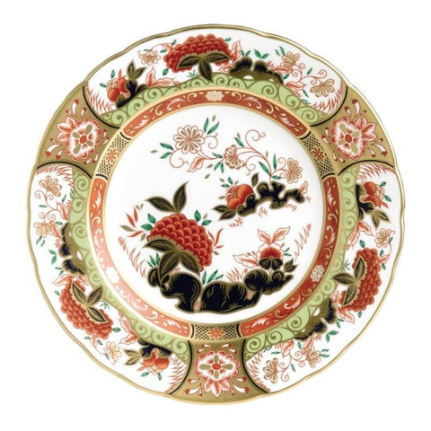 Royal Crown Derby~ Imari Golden Peony Accent Plate - Home & Decor Boston