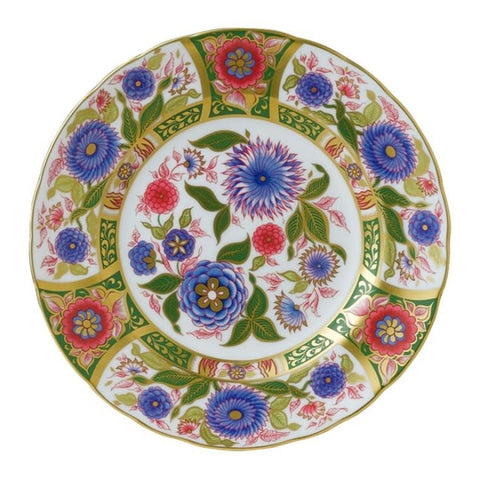 Royal Crown Derby~ Imari Kyoto Garden Accent Plate - Home & Decor Boston
