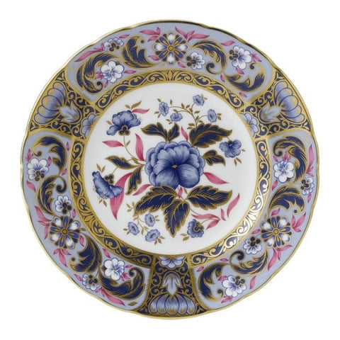 Royal Crown Derby~ Imari Pink Bouquet Accent Plate - Home & Decor Boston