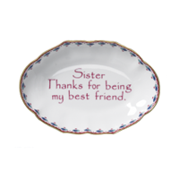 Sisters/bestfriend Tray - Gifts Boston