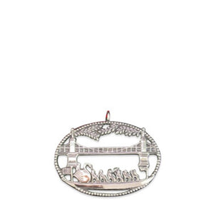 Swan Boat Vista Ornament - GIFTS Boston