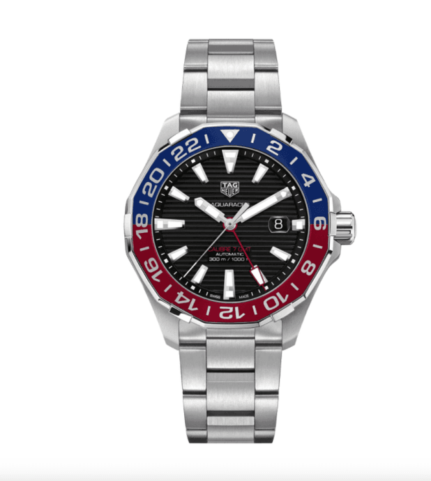 Tag Heuer Aquaracer Calibre 7 Automatic Stainless Steel/Bracelet (Ref. WAY201F.BA0927) - Boston