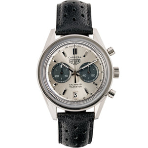 TAG Heuer Carrera Calibre 18 Chronograph Stainless Steel 39mm (CAR221A.FC6353) - Boston