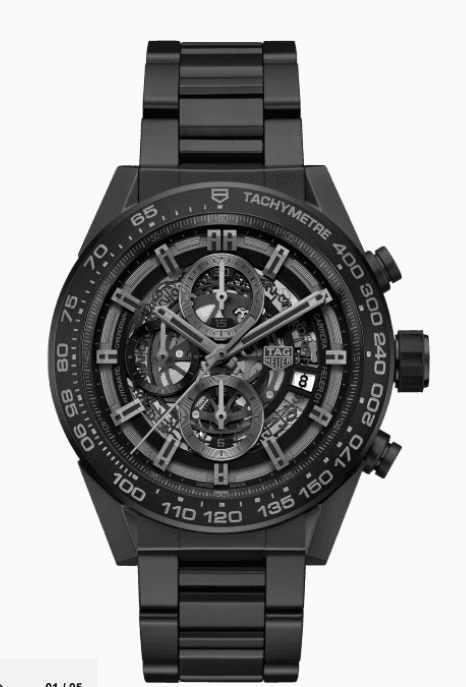 Tag Heuer Carrera Black Ceramic - Boston